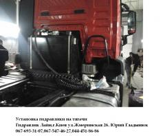 Services in repair and maintenance service of the equipment hoisting-and-transport and cargo handling