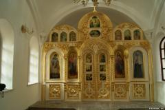 Церковный декор. Иконостас. Золото.