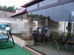 Glazing of turnkey terraces | Sokolglass