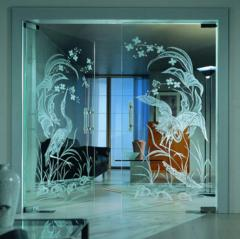 Installation of doors (glass) | Sokolglass