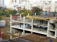 Installation of metalwork of frameworks of