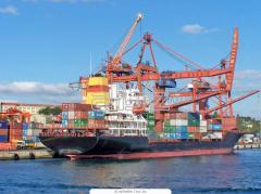 Послуги вантажних контейнерних терміналів