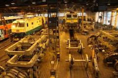 Repair of railway locomotives, engines and cars