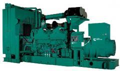 Installation of diesel power plants