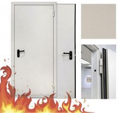 Установка сертификационных противопожарных (огнестойких) дверей
