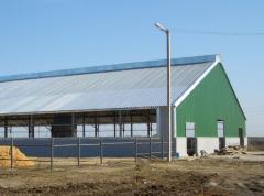 Строительство промышленных и сельскохозяйственных зданий: ангары, склады, цеха, зернохранилища, фермы, гаражи, мастерские, прочее.