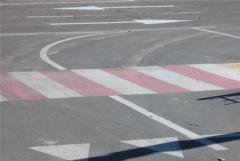 Marking of crosswalks