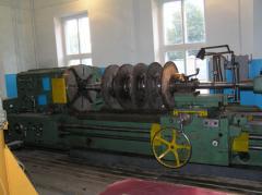 Ремонт роторов центробежных компрессоров и паровых