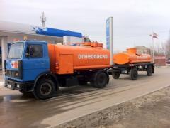 Перевозка светлых нефтепродуктов Днепропетров