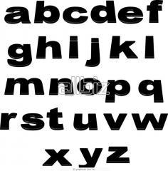 Надпись и логотип на спецодежде.