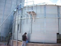 Reconstruction and modernization of grain-dryers