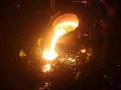 Molding is bronze