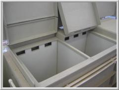 Lining of galvanic bathtubs