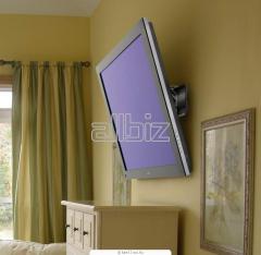 Установка телевизоров и плазменных панелей