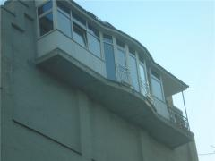 To expand kitchen at the expense of a balcony
