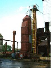 Recovery and repair of grain driers