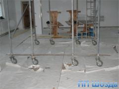Комплексный капитальный ремонт помещений и зданий