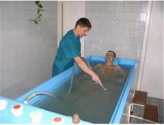 Оздоровительные ванны.