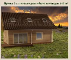 Проекты каркасно-щитовых домов
