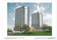 Проектирование многоквартирных жилых домов и...