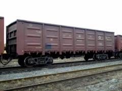 Грузоперевозки железнодорожные. Железнодорожные перевозки вагонами.