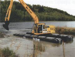 Земляные работы, устройство котлованов и водоемов