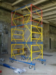 Rent of towers rounds - Mobile collapsible towers