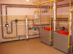 Пусконаладочные работы газовых котлов
