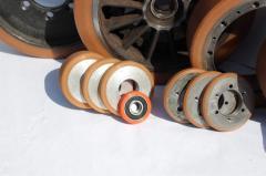 Наварка роликов, обслуживание и ремонт складской техники