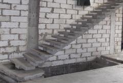Изготавливаем лестницы бетонные любой сложности и