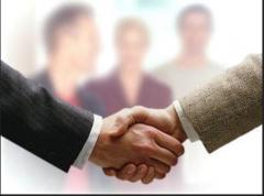 Услуги брокерские по купле и продаже действующего