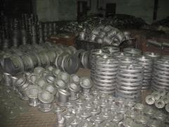 Molding of SCh20, SCh30, VCh45 cast iron a circle,