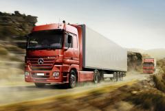 Regelm äßige internationale LKW-Beförderungen