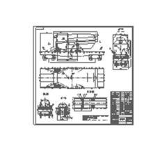 Development of schemes of fastening of loads on