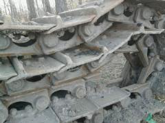 Ремонт гусеницы Т-130,  Т-170