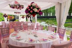 Flower registration of weddings, wedding