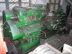 Turning and milling processing of metal,