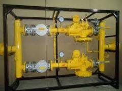 Обслуживание оборудования учёта газа