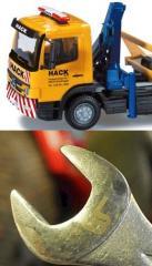 Repair of truck cranes, repair of lifting