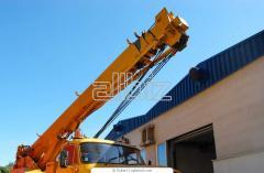 Restoration and repair of truck cranes.