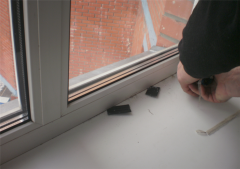 Services of the repair of plastic windows
