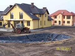 Строительство водоемов из пленки Львов