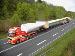 Транспортировка ветроэлктростанций