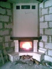 Repair of fireplaces