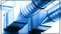 Design of systems of ventilation of air,