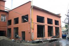 Реконструкция, модернизация, капитальный ремонт зданий