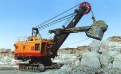 Repair of EKG-5 excavators