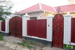 Устройство заборов. Мелитополь. Запорожская область