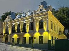 Архитектурное освещение фасада театра