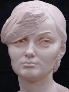 Portrait from the photo: Sculptural portrai